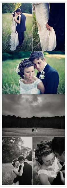 love these shots by clayton austin. and can you believe the bride had this dress made for $150 from one she thrifted for $50!