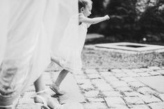 Flower girl and bride  wedding photography washington dc weddings engagement photography wedding pictures