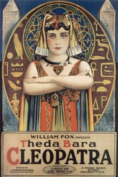 1917 Cleopatra <> from ART & ARTISTS: Film Posters 1913 - 1929