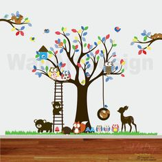 Custom Listing Vinyl Wall decal stickers swing by wallartdesign, $265.00