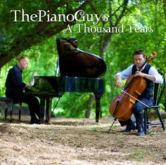 The Piano Guys - A Thousand Years. This WILL be what I walk down the aisle to. Simply beautiful.