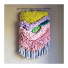 Woven wall hanging / Furry Electric Fields n. 3 / by jujujust