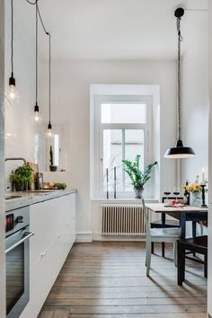 Beautiful small kitchen.