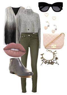"""S.S 19"" by biekatapang on Polyvore featuring Chicwish, Designers Remix, rag & bone/JEAN, Dune, Chicnova Fashion, Forever 21, Karen Walker, Lipsy, Topshop and Lime Crime"