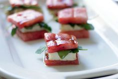 Summer Comfort Food: Watermelon Grilled Cheese Bites - Brit & Co. - Food