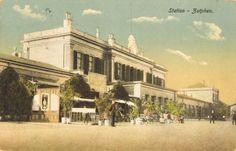 Stationsplein Zutphen (jaartal: 1910 tot 1920) - Foto's SERC
