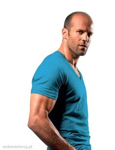 Jason Statham looking nice in this color.