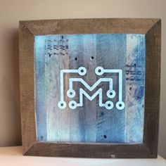 How to make an LED sign with reclaimed wood
