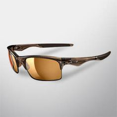Oakley Polarized Bottle Rocket Sunglasses   - Brown Smoke