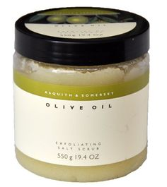 Organic Olive Oil Exfoliating Salt Scrub 17 Ounce BECCA Shimmering Skin Perfector Opal Deluxe Travel Size .68 oz
