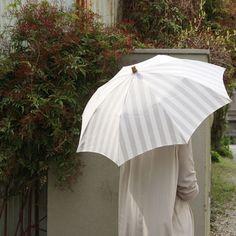 【楽天市場】【SUR MER 日傘 ストライプ 折りたたみ】シュールメール ファッション 傘 かさ カサ 紫外線防止加工 シュルメール■ 送料無料■…