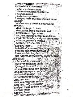 My favorite poem. #inspiration #poem