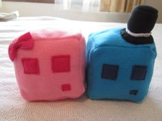 Valentine's Minecraft Slimes! For the romantic gamer (I.e, my husband) #FeelTheLoveWithBrastop