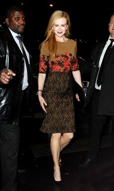 Nicole Kidman - Nicole Kidman Heads to Dinner