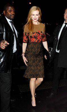 Nicole Kidman - Nicole Kidman Heads to Dinner