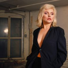 11:59 — Debbie Harry photographed by Chris Stein in the...