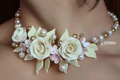 Колье свадебное