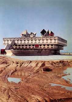 Neumann, Hecker, and Sharon, Town Hall and Community Center, Bat Yam, Israel, 1959-1963