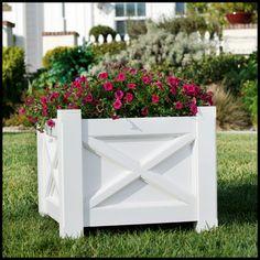 Superbe Main Street Premier Planters Square Planter Boxes, Garden Planter Boxes,  Window Planters, Outdoor