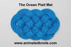 Tutorial on Ocean Plait Mat Tying