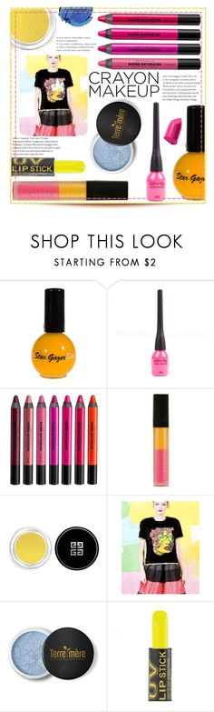 """""""Bold"""" by mmk2k ❤ liked on Polyvore featuring beauty, Urban Decay, Le Métier de Beauté, Givenchy, Manish Arora, Terre Mère, MAKE UP FOR EVER, Bobbi Brown Cosmetics, Color and makeup"""