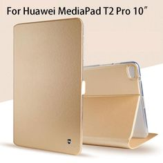 Luxury Silicone PU Leather Case For Huawei MediaPad Pro Case Cover Funda Tablet Slim Flip Shell Skin Leather Case, Pu Leather, Flip, Cool Things To Buy, Stuff To Buy, Shells, Luxury, Cover, Tablet Cases
