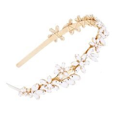 Women's Cara Rhinestone Flower Headband (240 GTQ) ❤ liked on Polyvore featuring accessories, hair accessories, flower hair accessories, cara headbands, rhinestone flower headband, head wrap headbands and embellished headbands