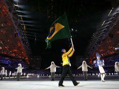 Febryary 06 2014, Olympic Winter Games, Sochi, Russia. - BRAZIL.