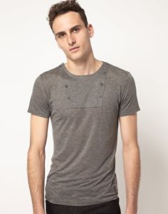 Enlarge Villain T-Shirt With Bib Chest
