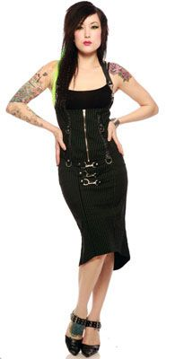 Gangster Buckled Fish-tail Skirt http://www.mame.com.au/gangster-buckled-fish-tail-skirt