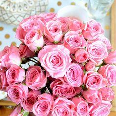 Nav K Brar: Pink sweetheart roses