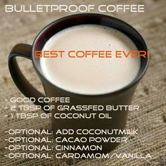 Image result for bulletproof coffee recipe