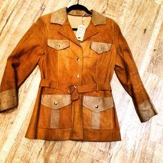 70's suede coat Suede Coat, Vintage Shops, Shopping, Fashion, Moda, Fashion Styles, Fashion Illustrations, Vintage Stores