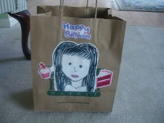 Birthday in a Bag project