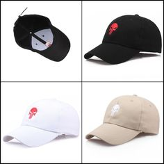 separation shoes ff3d6 3efa2 Baseball Cap The Punisher Cool Skull Unisex Embroidery Outdoor Snapback  Gift  Doesnotapply  Casual Hat