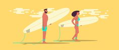 LET'S GO SURFING on Behance