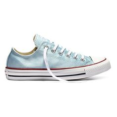 c0b02e49ce28 Converse Chuck Taylor All Star Sheen Wash Polar BlueWhite WS 65 BM US