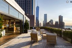 250 West Street Penthouse Returns To Market For $39.5M - On the Market - Curbed NY