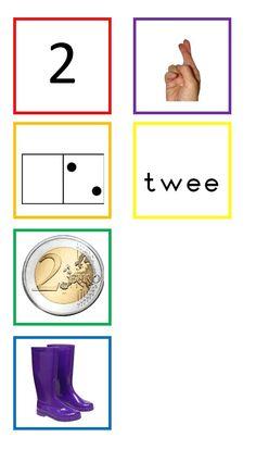 en andere wiskundekaarten tot 10