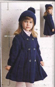 NEW Little Pricess Coat For 2 to 3 Year Old by AuthenticKnit, $52.00