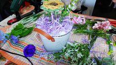 Aranjamentul nr 2 din flori de sapun-Fantezie mov de primavara! Design Crafts, Inspiration, Plant, Biblical Inspiration, Inspirational, Inhalation