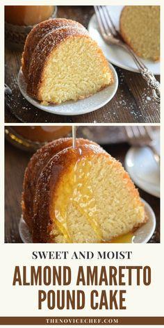Homemade Pound Cake, Pound Cake Recipes, Homemade Desserts, Easy Cake Recipes, Homemade Cakes, Cupcake Recipes, Baking Recipes, Dessert Recipes, Vegan Pound Cake Recipe