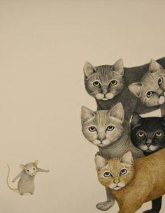 "Lisa D'Andrea ~ illustrator for ""A Most Mysterious Mouse"" : https://s-media-cache-ak0.pinimg.com/originals/41/6e/4e/416e4eeeafe20001f330caa44f2c0dcb.jpg"