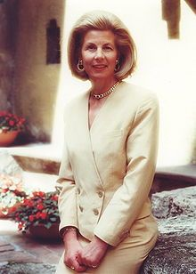 Marie Aglaë, Princess of Liechtenstein is the wife and cousin of Prince Hans Adam II of Liechtenstein