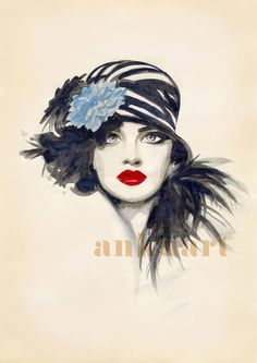 Hey, I found this really awesome Etsy listing at http://www.etsy.com/listing/174051928/retro-beauty-print-of-an-original