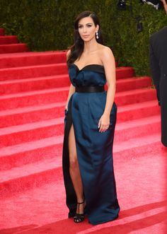 Kim Kardashian in Lanvin (2014)