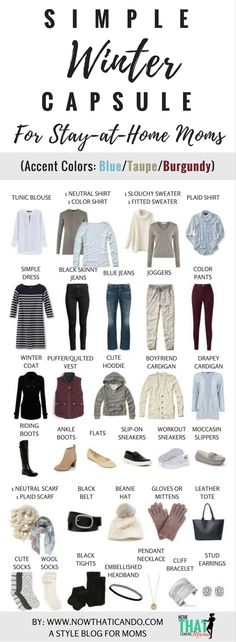 Winter Wardrobe Plan (130+ Outfits) for Stay-at-Home Moms