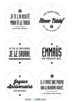 Geschenk - étiquettes originales - Pimp ton cadeau avec une pimpante étiquette made in ma. Diy Christmas Tags, Christmas And New Year, Christmas Time, Christmas Garden, Christmas Presents, Diy Cadeau, Diy Weihnachten, Merry Xmas, Gift Wrapping