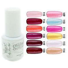 yemannvyou®sequins de color de uñas de gel UV no.109-120 polaco (5 ml, colores surtidos) - EUR € 2.72