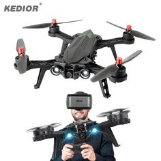 Cheap drones with camera hd, Buy Quality drone with directly from China drone with camera Suppliers: MJX Bugs 6 Professional Racing RC Drone with Camera HD FPV Live Video Quadcopter RTF KEDIOR Hero 3 Bugs, Rc Drone With Camera, Buy Drone, Drone Diy, Drone Remote, Flying Drones, Drone Technology, Technology Gadgets, Spy Gadgets